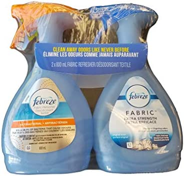 Fantastic Febreze Variety Value Pack Of Two 27 Oz Bottles Extra Strength And Antibacterial Pabps2019 Chair Design Images Pabps2019Com