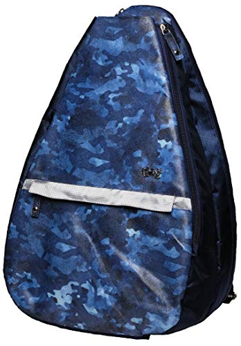 GloveIt TR245 Female Blue CAMO-Tennis Back Pack - Tennis Sling
