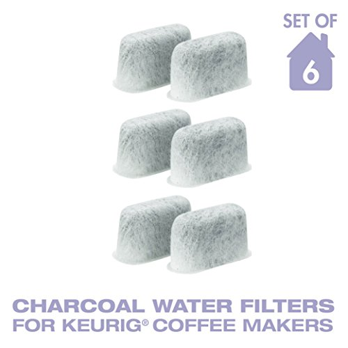 Charcoal Water Filters, Replaces Keurig 05073 - 6 Pieces (One Year Provide)