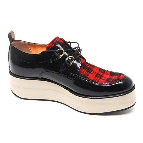Donna London Shoe rosso Scarpe Nero Scozzese Woman B6690 Smith Alexander Scarpa qZ54IwR