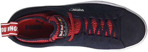 Puma RBR Suede, Sneakers Basses Mixte Adulte Noir (Night Sky-freesia-chinese Red)