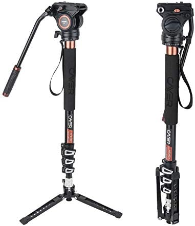63 4 Section Extendable Aluminium Pole Monopod Leg Stand with Binocular Metal L Shaped Adapter Mount with Dual 1//4 Inch Screw Bolt Thread iGadgitz 2 in 1 Kit 160cm
