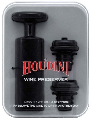 (Metrokane Houdini Wine Preserver Home Supply Maintenance Store)