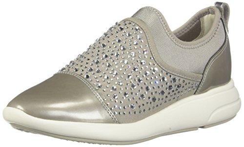 Grigio 0au15 D721cb Donna Geox c1010 Sneakers wHZUIO4qO