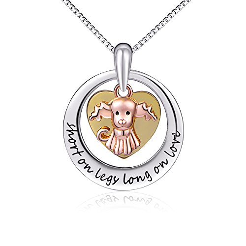 Sterling Silver 3 Tone Pendant Necklace product image