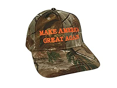 Make America Great Again Donald Trump Hat - Realtree All Purpose Camo
