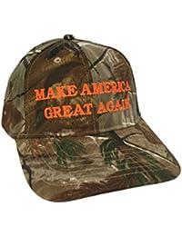 Make America Great Again Donald Trump Hat - Realtree All Purpose Camo