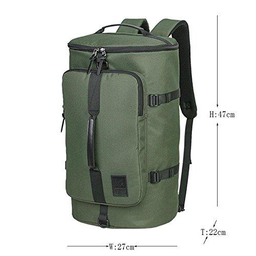 YYY-Un nuevo día senderismo bolsa de acampar al aire libre deportes artículo viajes para los hombres y las mujeres mochila 27 * 22 * 47 cm , standard camouflage 35l army green standard 35l