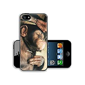 Funny Lazy Monkey Bubble gum iPhone 5s case phoneotterboxase for iphone