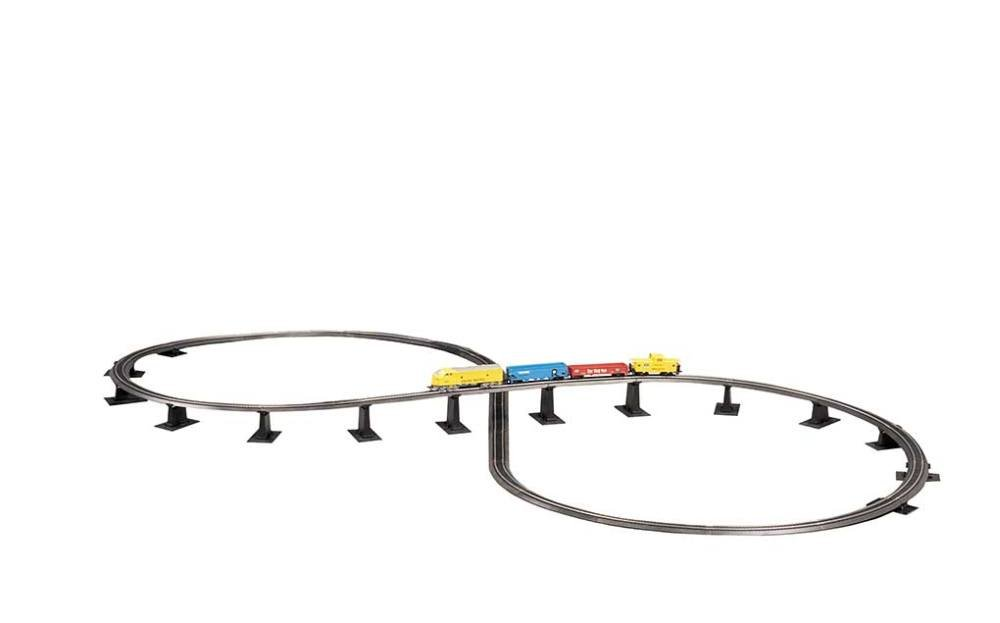 Bachmann Steel Alloy E-Z Track Over-Under Figure 8 Track Pack