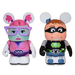 Disney Vinylmation Urban Series Comic Con Boy and Girl - -