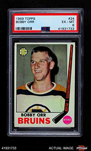y Orr Boston Bruins (Hockey Card) PSA 6 - EX/MT Bruins ()