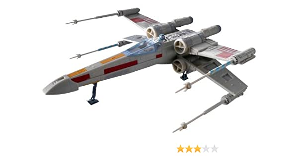 Revell X-Wing Fighter Plastic Spacecraft Model Building Kit ...