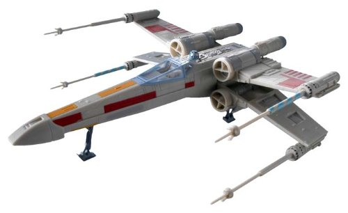 Revell X-Wing Fighter Plastic Spacecraft Model Building Kit - Spacecraft Models