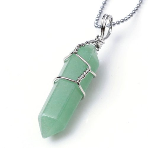 JOVIVI%C2%AE Crystal Divination Healing Pendant