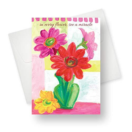 (12 Pack) Miracle Birthday Greeting Card - Premium Quality with Unique Designs - for Boys, Girls and Adults - 5.5