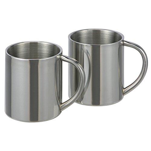 2pièces en acier inoxydable Gobelet isotherme Thermos Gobelets tasses
