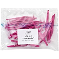 TePe Interdental Brush Angle - Pink 0.4mm 25 Pack by TePe Oral Health Care, Inc.
