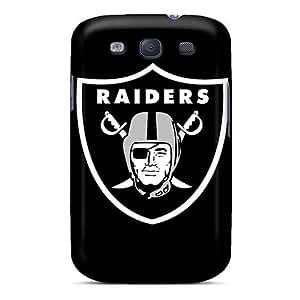 Unique Design Galaxy S3 Durable Tpu Case Cover Oakland Raiders