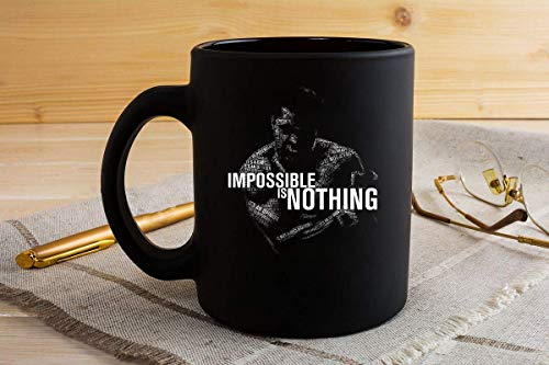 Mohamed Ali Impossible Is Nothing 15 Mug 11oz