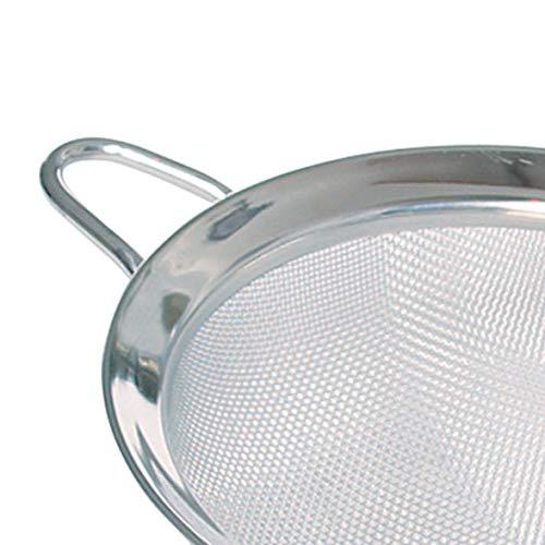 """6//8//10/"""" Stainless Steel Sieve Strainer Wire Mesh Hand Kitchen Tool Flour Baking"""