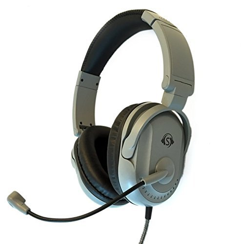 Deluxe Multimedia Stereo Headset (Soundnetic Deluxe Classroom Tri-Plug Multimedia Headset)