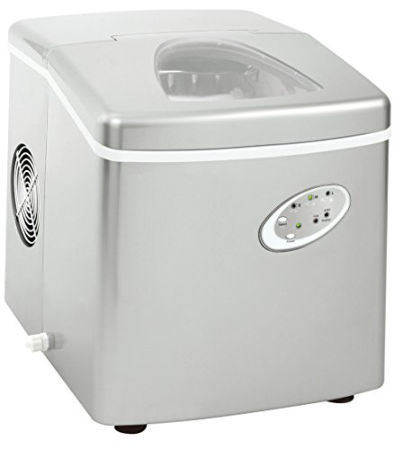 Curtis Extra Large Ice Maker, 48lb Ice per Day, Silver