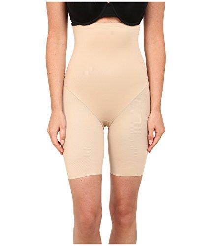 - TC Fine Intimates Women's Back Magic Luxury Hi Waist Thigh Slimmer, Nude XL