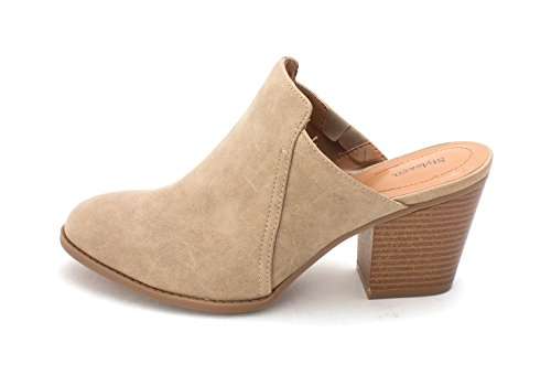 Beige amp; Co Mules pour Femme Style w0SOfFxf