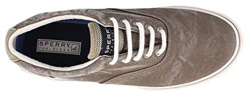 Sperry Top-Sider Men's Halyard Casual Slip On Shoe Chocolate sale big discount 0TnmvIA