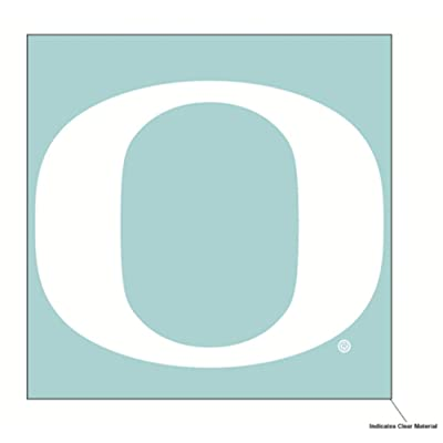 Wincraft NCAA University of Oregon Ducks 6 x 6 inch White Decal : Sports & Outdoors
