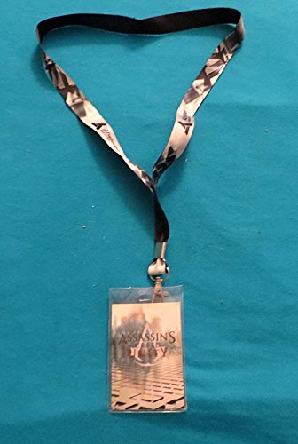 Assassin's Creed Unity Abstergo Industries Lanyard ID Badge / Ticket Holder