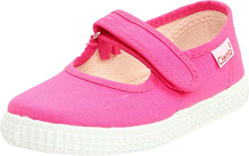 (Cienta Girls Mary Jane Shoe, Fuchsia, 23 M EU / 6.5 M US Toddler)