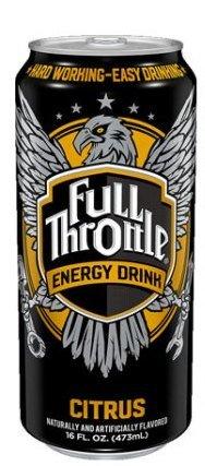 Throttle Case - 16 Pack - Full Throttle Energy Drink - Citrus - 16 Ounce