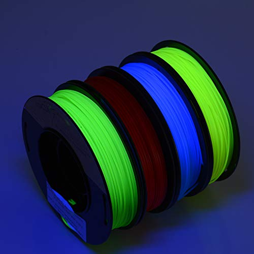 FrontierFila 3D Printer Filament PLA 1kg 1.75mm Thermochromic Green//Yellow