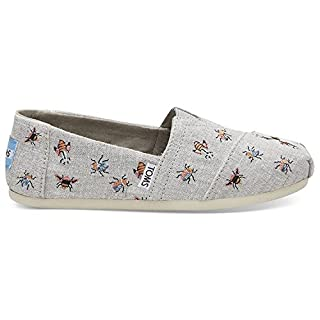 TOMS Women's Drizzle Grey Embroided 10012496 (Size: 7.5) (B0778XGS3L) | Amazon price tracker / tracking, Amazon price history charts, Amazon price watches, Amazon price drop alerts