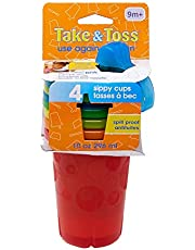 The First Years Take & Toss Spill Proof Sippy Cups Value Pack