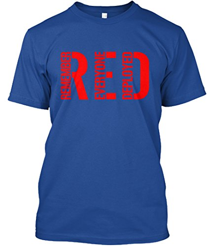 Teespring Red Friday - Unisex - XXXXX-Large - Deep Royal - 100% combed ringspun cotton - T-Shirt
