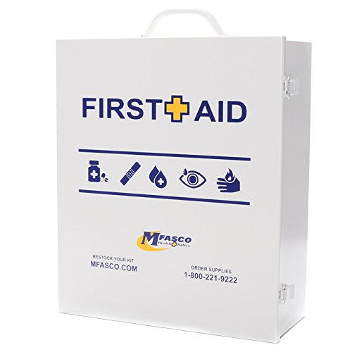 Empty First Aid Box 3 Shelf With First Aid Logo