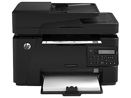 HP LaserJet Pro M127fn Multifunction Laser Printer, 20ppm Black, 600x600 dpi, 150 Sheet Input Tray, Print, Copy, Scan, Fax