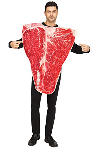 Fun World Men's Piece of Meat, Multi, STD. up to 6'/200 lbs -