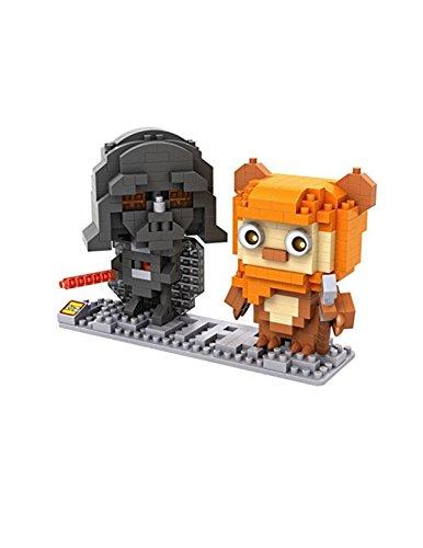 Star Wars Diamond Nano-Block(mini blocks) 2 pc set- Darth Vader & Ewok