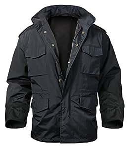 Rothco Nylon M-65 Storm Jacket, Black, 3X