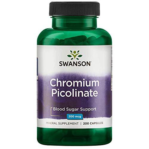 Swanson Chromium Picolinate 200 mcg 200 Capsules