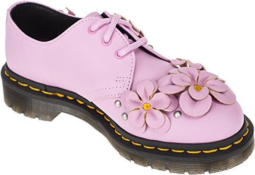 Hydro 36 Shoes Leather Dr Ladies 1461 Martens Mallow eu uk Pink 3 Flower wf7Yq8w