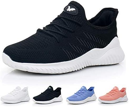 JARLIF Women s Memory Foam Slip On Walking Tennis Shoes Lightweight Gym Jogging Sports Athletic Running Sneakers US5.5-10