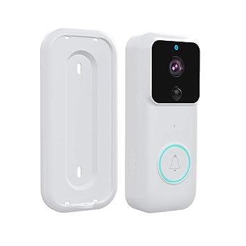 Amazon.com: Cámara de videocámara WiFi para timbre de puerta ...