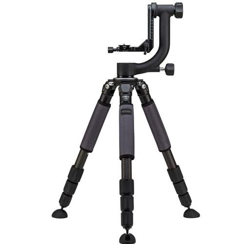 - Induro Tripods GIT304GHB2K No. 3 Grand Series Stealth Carbon Fiber Tripod Kit (Black)