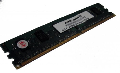 4GB Memory for Gigabyte GA-P55-UD3L-TPM Motherboard DDR3-8500 NON ECC DIMM RAM (PARTS-QUICK BRAND)