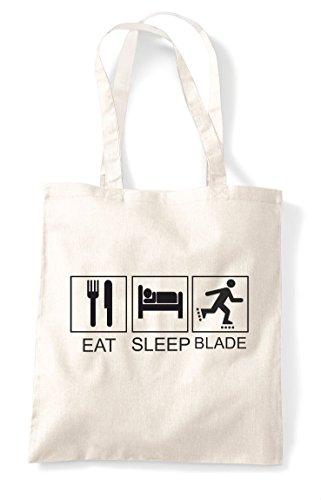 Rollarblade Hobby Sleep Natural Activity Funny Tiles Eat Bag Tote Shopper g4615n6x